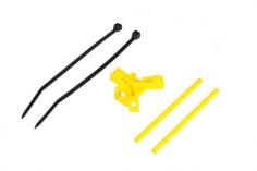 Mikado Antennenhalter Heckrohr, gelb