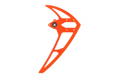 Mikado Seitenleitwerk neon-orange, LOGO 600/690