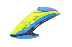 Mikado Haube LOGO 800 neon-gelb/blau/schwarz