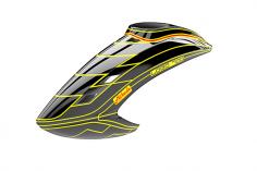 Mikado Haube LOGO 700, schwarz/neon-gelb