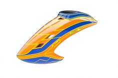 Mikado Haube LOGO 700, neon-orange/blau