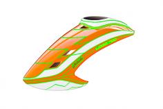 Mikado Haube LOGO 700, neon-orange/weiß/neon-orange