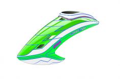 Mikado Haube LOGO 700, neon-grün/weiß/neon-grün