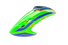 Mikado Haube LOGO 700, neon-grün/blau/neon-grün
