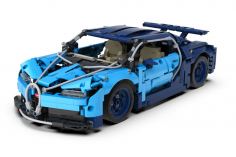 Cada Klemmbausteine - Blue Phantom – 1196 Teile