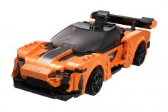 CaDa Klemmbausteine – Blaze Car - RC Set RTR mit Fernsteuerung oder via APP und Antriebsset bestehend aus 295 Teilen