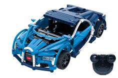 CaDa Klemmbausteine - Rennwagen - RC Set RTR mit Fernsteuerung und Antriebsset bestehend aus 419 Teilen