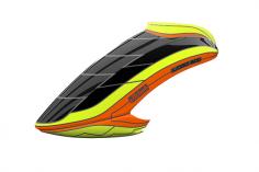 Mikado Haube LOGO 600, neon-gelb/orange