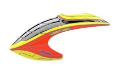 Mikado Haube LOGO 480 Neon-gelb/rot