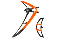 Mikado Leitwerksatz LOGO 480 schwarz/neon-orange