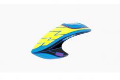 Mikado Haube LOGO 480, gelb/blau/schwarz