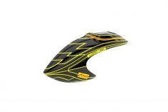 Mikado Haube LOGO 480, gelb/schwarz