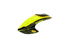 Mikado Haube LOGO 480, gelb/schwarz/gold
