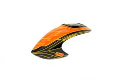 Mikado Haube LOGO 480, orange/schwarz/gelb