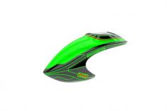 Mikado Haube LOGO 480, grün/schwarz