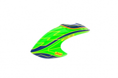 Mikado Haube LOGO 480, grün/blau