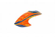 Mikado Haube LOGO 480, orange/blau