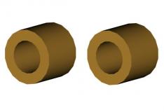 Miiado Distanzbuchse 4,8x3x2,1