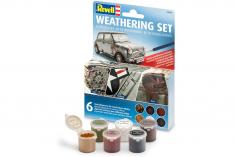 Revell Weathering Set 6 Farben Pigmente