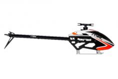 Tron 7.0 Heli Bausatz mit Haube in weiß orange OHNE Rotorblättern
