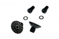 Steuerknüppelendstück / Gimbal Stick End / Typ E in schwarz mit M3 Gewinde 2 Stück 2 Stück