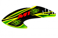 Airbrush Fiberglas Green Scratch Haube für OMPHobby M1