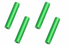Abstandshalter / Spacer / Standoff M3 Aluminium eloxiert glatt in grün 4Stück 40mm
