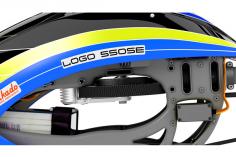 Mikado LOGO 550 SE KIT / Baukasten in der Farbe schwarz/gelb/blau