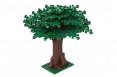 Klemmbausteine Großer Baum grün - 114 Teile