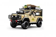 Sembo Kelmmbausteine Trophy Geländewagen in beige - 4631 Teile