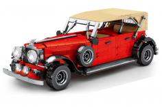 Sembo Kelmmbausteine Oldtimer Cabrio in rot - 1134 Teile