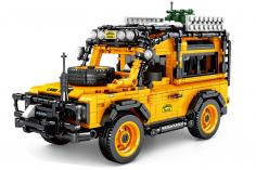 Sembo Kelmmbausteine Geländewagen in gelb - 1053 Teile