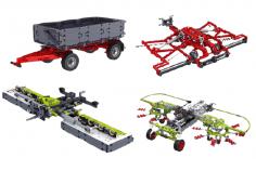 Mould King Klemmbausteine Traktor Supplement Pack - 3098 Teile