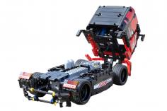 Mould King Klemmbausteine Europäischer Racing Truck mit RC Set (Ferngesteuert) - 570 Teile