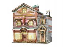 Mould King Klemmbausteine  Zauberbesen Laden mit Beleuchtungsset - 3033 Teile