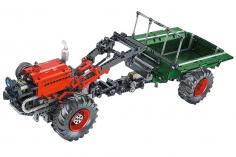 Mould King Klemmbausteine kleiner Traktorkleiner Traktor mit Motoren - 1312 Teile